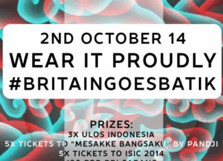 BritainGoesBatik Poster